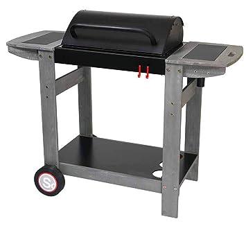 PEGANE Barbecue à Charbon de Bois, Grill, Barbecue de Jardin ...