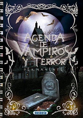 Agenda Escolar Permanente Vampiros Y Terror