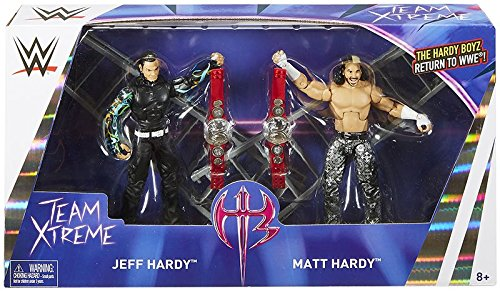 """WWE Elite Epic Moments Hardy Boyz Action Figures, 2 Pack"""