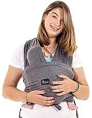 Lätt att bära babysele (ljus på), justerbar unisex - multifunktionellt babysele