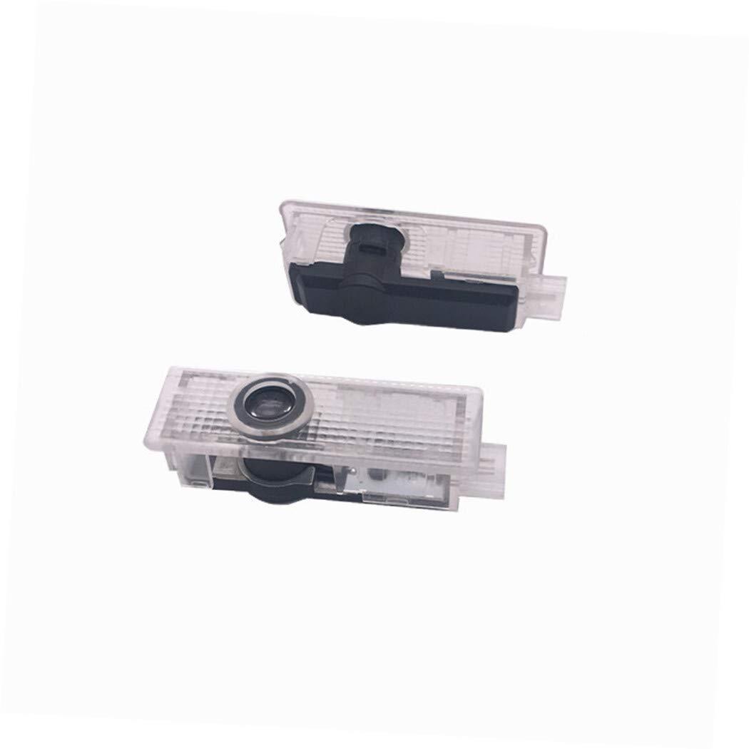 2pieces for la l/ámpara LED del Logotipo de BMW Puerta de Coche proyector de luz de la Sombra for E90 E60 F10 F30 X3 X5 X6 E92 M3 M5 M6 Z4 E61 E93 E63 F15 SHIYM-YBD