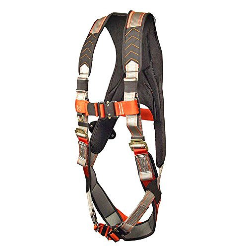Madaco Roof Construction Fall Protection Heavy Duty Full Body Industrial Safety Harness Size M-XXL ANSI OSHA H-TB205AP-MAX by Madaco Safety Products