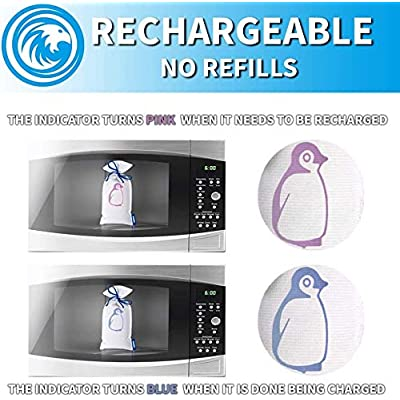 Zarpax Kit Reusable Dehumidifier Includes LV-150, LV-250, LV-500: Home & Kitchen