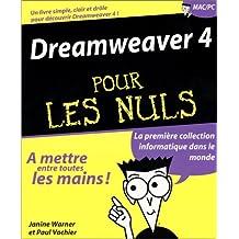 Dreamweaver 4 pour les nuls