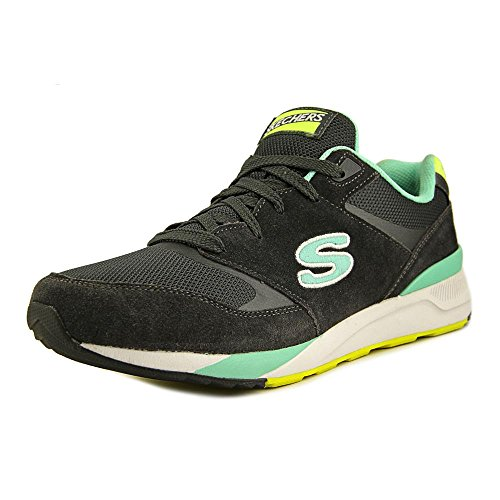 Skechers Originali Donne Retros Og 90 Rad Runner Fashion Sneaker Carboncino / Aqua
