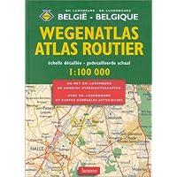 Atlas routier : Belgique-Luxembourg