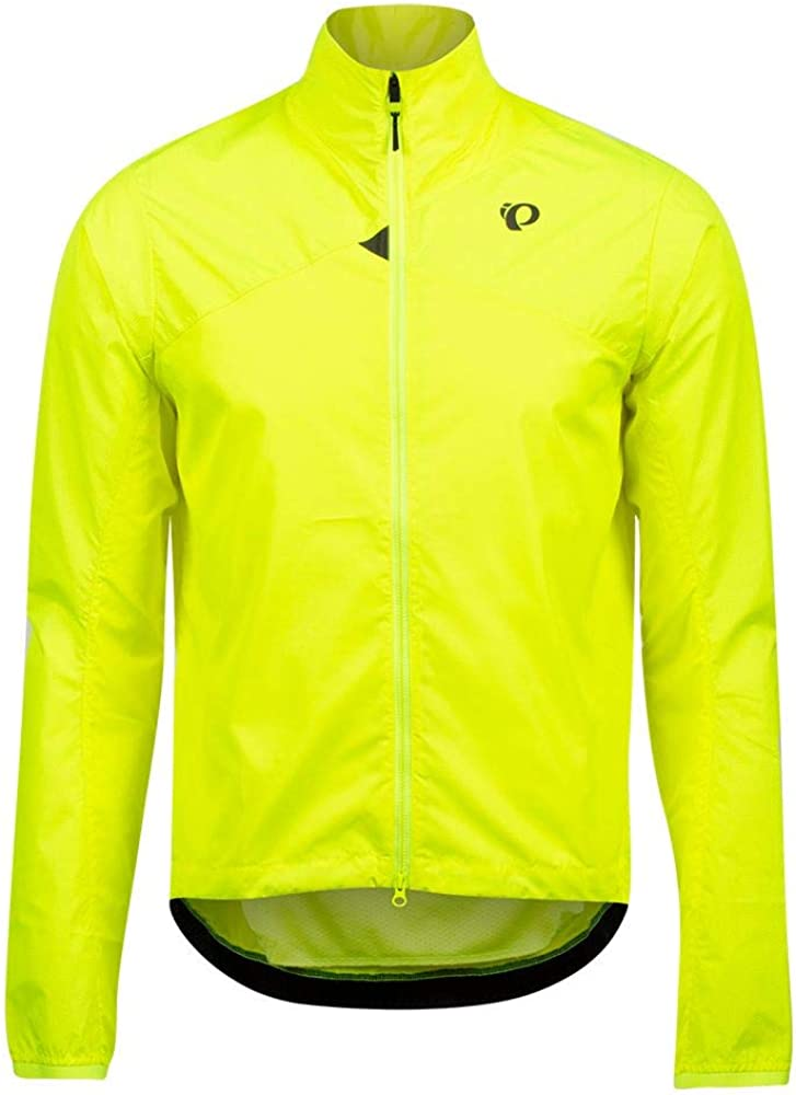 L PEARL IZUMI Mens BioViz Barrier Jacket Screaming Yellow//Reflective Triad