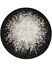 Area Rug, Non-slip Round Chair Mat, High Quality Material Exquisite Workmanship for