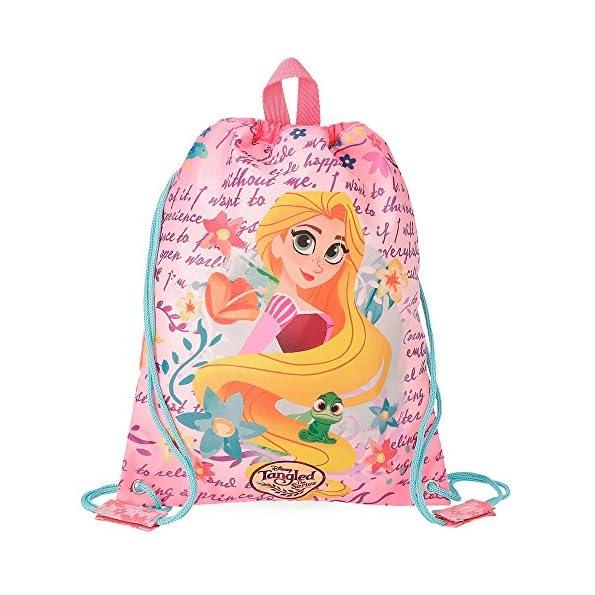 Zainetto Rapunzel per Bambini - Zaino Sacca Rapunzel Disney - Zaino merenda porta oggetti