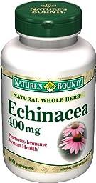 Nature\'s Bounty Echinacea 400 Mg., 100 Capsules,  (Pack of 2)