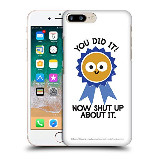- Official David Olenick Boast Likely to Suceed Medal Objects Hard Back Case iPhone 7 Plus/iPhone 8 Plus