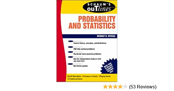 theory and problems of probability and statistics spiegel pdf