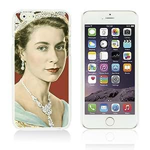 OnlineBestDigitalTM - Celebrity Star Hard Back Case for Apple iPhone 6 Plus (5.5 inch) Smartphone - Beautiful Queen Elizabeth II