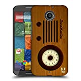 Head Case Designs Sound Machine Vintage Radio Phone Protective Snap-on Hard Back Case Cover for Motorola Moto X 2nd Gen LTE