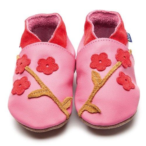 645faba622f6e7 Inch Blue Schuhe inch Orientalische Blüte inch - Pink   Koralle Large