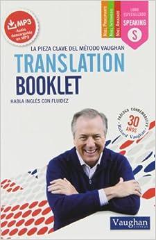 Translation Booklet: Habla Inglés Con Fluidez por Richard Vaughan epub