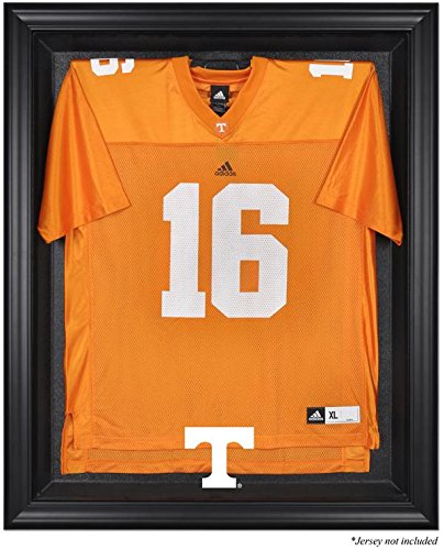Tennessee Volunteers Black Framed Logo Jersey Display Case by Sports Memorabilia