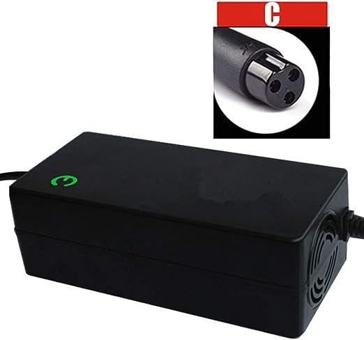 XDDXIAO Equipo de Carga de la batería de Litio de 48V 2A luz del ...