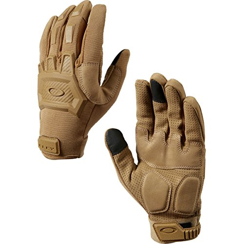 Oakley Flexion Mens Snow Snowmobile Gloves - Coyote/Medium