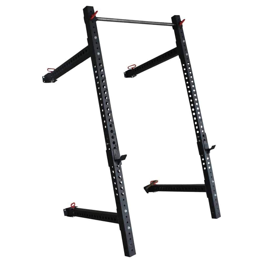 Bells of Steel Folding Power Rack Space Saving Performance Squat Rack with Pull Up Bar …