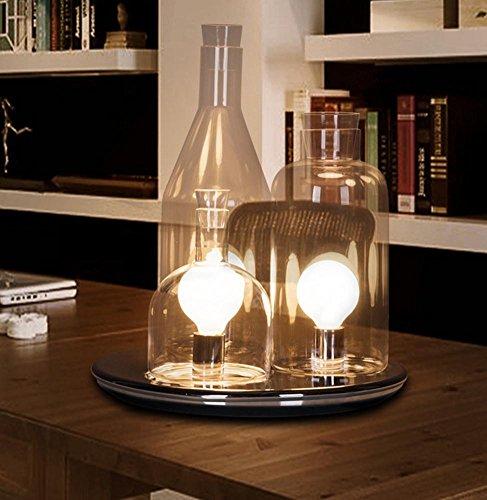 I Donchisciotte Del Tavolino.Dmmss Lampada Da Tavolino Moderna In Vetro Minimalista Lampada Da Tavolo Calda Nordica Lampada Da Tavolino Creativo Da Cucina 40 49cm