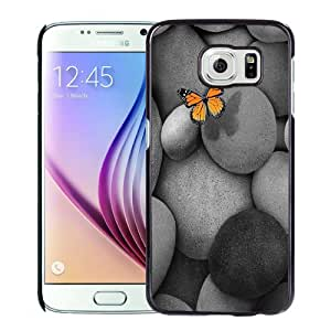 New Personalized Custom Designed For Samsung Galaxy S6 Phone Case For Butterfly and Cobblestone Phone Case Cover