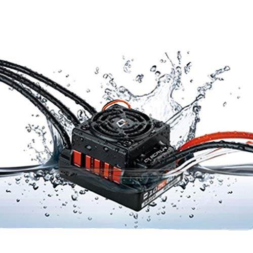 DDLmax HobbyWing QuicRun 1:10 Waterproof Non-inductive Brushless 60A ESC for RC Car