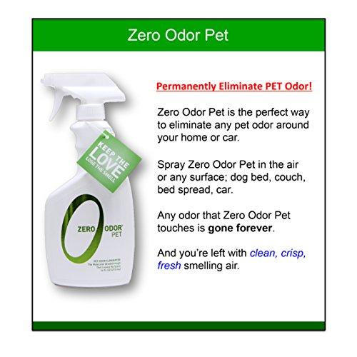 Zero Odor Pet Odor Eliminator, Trigger Spray, 16 ounces