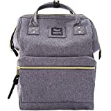 Himawari Travel School Backpack with USB Charging Port 15.6 Inch Doctor Work Bag for Women&Men College Students(U5-YUI7-Z5WZ)