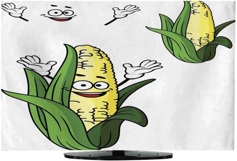 TV Dustproof Cover Cloth Happy Cartoon Football Turkey130/32 Funda para televisor: Amazon.es: Electrónica