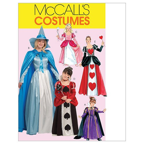 Storybook 3 Piece Costumes (McCall's Patterns M5954 Misses'/Children's/Girls' Storybook Costumes, Size KID [(3-4) (5-6) (7-8)])