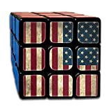 AVABAODAN American Flag.jpg Rubik's Cube Custom 3x3x3 Magic Square Puzzles Game Portable Toys-Anti Stress For Anti-anxiety Adults Kids