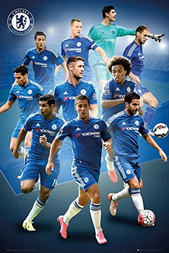 Chelsea- 15/16 Players Poster 24 x 36in