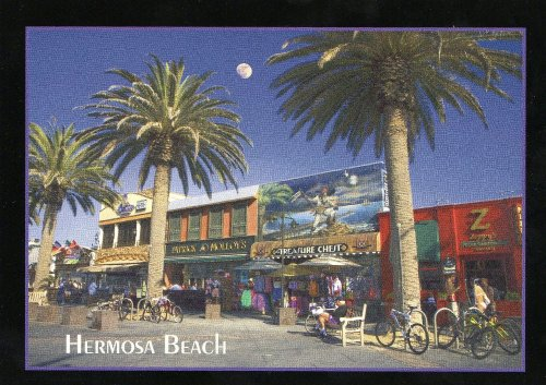 94 HERMOSA BEACH, CALIFORNIA POSTCARD - from Hibiscus Express ()