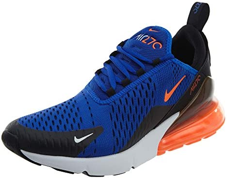 Nike Air Max 270 Men s Shoes Racer Blue Hyper Crimson Black ah8050-401