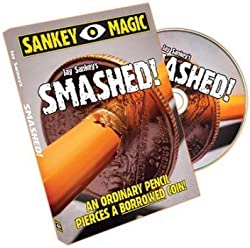 Smashed With US Coin By Jay Sankey Magic