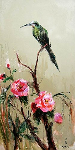 Oil Painting 'Chinese Bird And Flower Painting', 30 x 60 inch / 76 x 152 cm , on High Definition HD canvas prints is for Gifts And Gym, Laundry Room And Nursery Decoration, my (Chinese Brush Painting Handbook)
