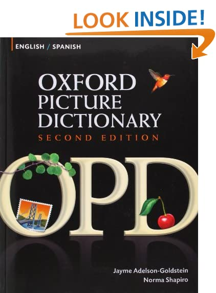 Oxford Picture Dictionary: Amazon.com