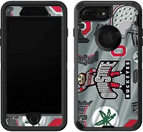 ff1c18d95b0 Ohio State University OtterBox Defender iPhone 7 Plus Skin - Ohio State  Pattern