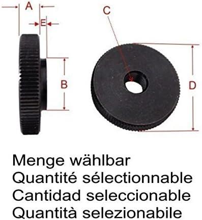 R/ändelmutter M4 Metall massiv Stahl br/üniert DIN 467 MENGE w/ählbar Menge:1 ST/ÜCK