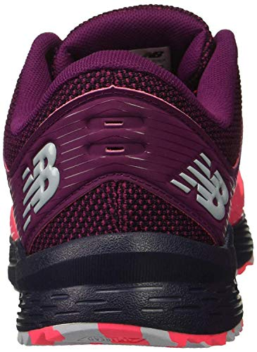 New Balance Women's Nitrel V2 FuelCore Trail Running Shoe, Pink zing/Claret/Pigment, 5.5 D US by New Balance (Image #3)