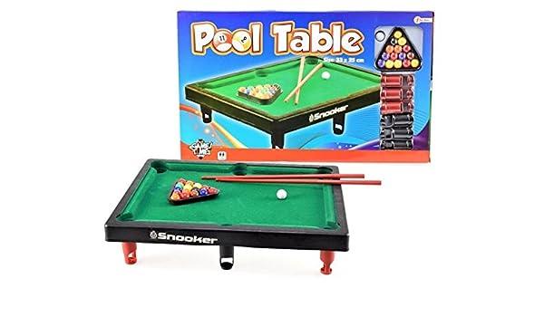 Mini Pool Mesa de billar mesa de mini mesa de billar mesa de billar billar Pool: Amazon.es: Deportes y aire libre