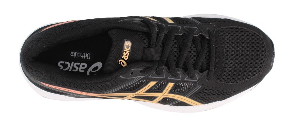 ASICS Women's Gel-Contend 4 Running Shoe B0795DZH1P 5.5 B(M) US|Black/Apricot/Carbon