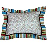 Caden Lane Classic Collection Bedding Classic Pillow Sham, Red