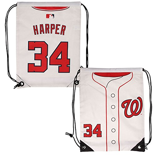 FOCO Washington Nationals Harper B. #34 Drawstring Backpack by FOCO