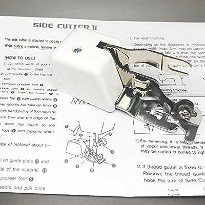 Cortador lateral compatible II y dobladillo máquina de coser ...
