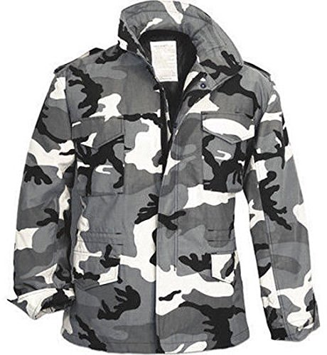 Jacket and Liner Tactical Military Uniform Field Coat Army Camo (5 Shirt Oz Flannel)