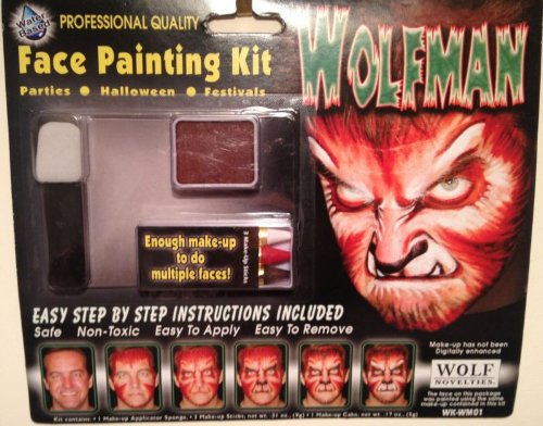 WolfMan Face Painting Kit]()