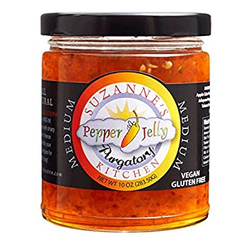 Suzanne S Kitchen Jelly Purgatory Medium Pepper 10 Ounce