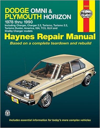 dodge omni and plymouth horizon 1978 1990 haynes manuals dodge omni and plymouth horizon 1978 1990 haynes manuals 1st edition